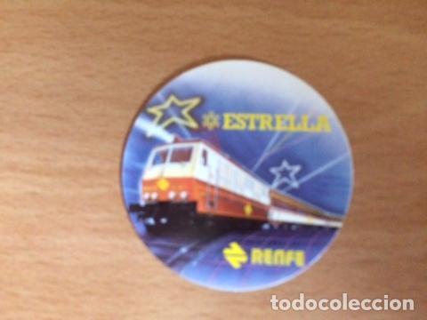 ESTRELLA RENFE (Coleccionismos - Pegatinas)
