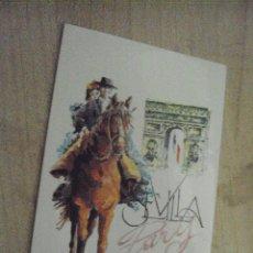 Pegatinas de colección: UNA PEGATINA DE IBERIA SEVILLA-PÀRIS. Lote 88512284