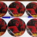 Pegatinas de colección: SPIDERMAN PEGATINAS DE GRAN TAMAÑO PANINI COMICS AÑO 2004 SALON DEL COMICS A 5 EUROS LA UNIDAD. Lote 88825792