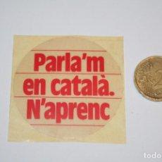 Pegatinas de colección: POLITICA *** PEGATINA / ADHESIVO *** SIN PEGAR *** PEDIDO MÍNIMO 3 € ***. Lote 89493664