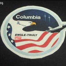 Pegatinas de colección: PEGATINA STICKER NAVE ESPACIAL COLUMBIA ENGLE TRULY GARBO NASA USA ESPACIO. Lote 89631716