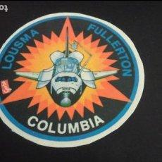 Pegatinas de colección: PEGATINA STICKER NAVE ESPACIAL COLUMBIA LOUSMA FULLERTON GARBO NASA USA ESPACIO. Lote 89631812