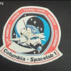 Pegatinas de colección: PEGATINA STICKER NAVE ESPACIAL COLUMBIA SPACELAB 1 GARBO NASA USA ESPACIO. Lote 89631868