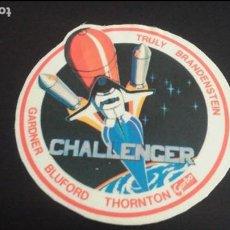 Pegatinas de colección: PEGATINA STICKER NAVE ESPACIAL COLUMBIA CHALLENGER GARBO NASA USA ESPACIO. Lote 89632068