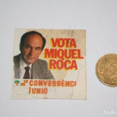 Pegatinas de colección: POLITICA *** ANTIGUA PEGATINA / ADHESIVO *** AÑO 1982 *** SIN PEGAR *** PEDIDO MÍNIMO 3 € ***. Lote 90143828