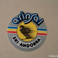 Pegatinas de colección: PEGATINA (ADHESIVO) ARINSAL - SKI-ANDORRA. Lote 105909242