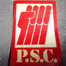 Pegatinas de colección: PEGATINA POLÍTICA DE LA TRANSICIÓN. Lote 93580910