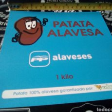 Pegatinas de colección: PEGATINA POLÍTICA VASCA PP ALAVESES . Lote 94006989