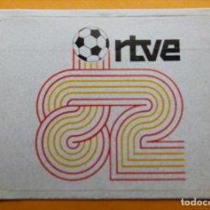Pegatinas de colección: PEGATINA - RTVE MUNDIAL ESPAÑA 82. Lote 95082143