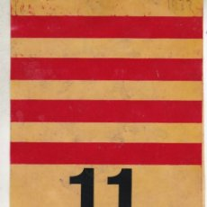 Pegatinas de colección: PEGATINA, PEGATINAS, ADHESIVO, ADHESIVOS. UNITARIA 11 SETEMBRE 1977. Lote 95637859