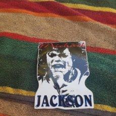 Pegatinas de colección: ANTIGUA PEGATINA DE MICHAEL JACKSON. . Lote 95769219
