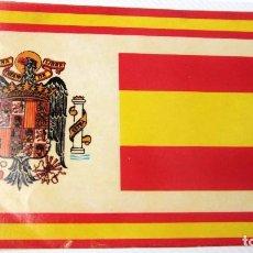 Pegatinas de colección: ANTIGUA PEGATINA DE ESPAÑA,BANDERA Y ESCUDO ,ÉPOCA DE FRANCO,ARTICULO COLECCIONISMO. Lote 96017495