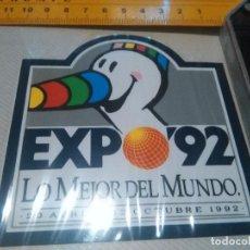 Pegatinas de colección: ALBUM 4 ---- ANTIGUA PEGATINA - EXPO 92 MASCOTA CURRO SEVILLA 1992 . . Lote 96072019