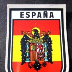 Pegatinas de colección: ANTIGUA PEGATINA ESCUDO BANDERA DE ESPAÑA. Lote 106653750