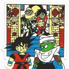 Pegatinas de colección: PEGATINA EXCLUSIVA DRAGON BALL Z- SON GOKU CON PICCOLO- AKIRA TORIYAMA & TOEI ANIMATION CO, 1989. Lote 218526798