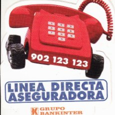 Pegatinas de colección: PEGATINA. '902123123' LINEA DIRECTA ASEGURADORA (TAMAÑO 8.7 * 10 CMS.). Lote 96743235