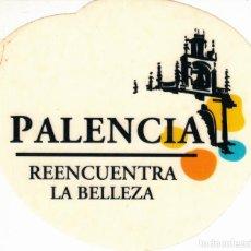 Pegatinas de colección: PEGATINA. 'REENCUENTRA LA BELLEZA' PALENCIA. (TAMAÑO 9 * 7.8 CMS.) FONDO BLANCO.. Lote 96744587