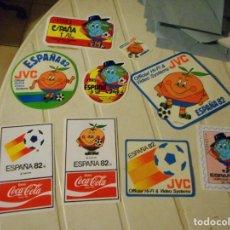 Pegatinas de colección: LOTE COLECCION PEGATINA NARANJITO MUNDIAL FUTBOL 1982 82. Lote 97534943