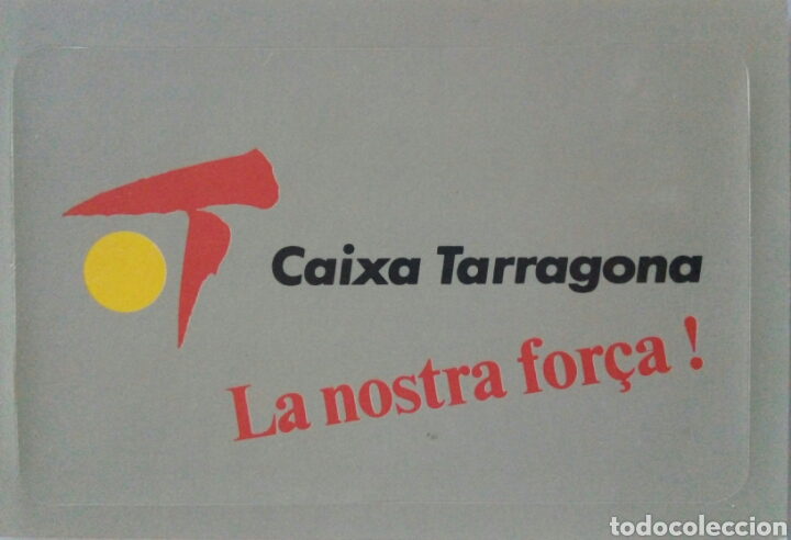 PEGATINA CAIXA TARRAGONA (Coleccionismos - Pegatinas)