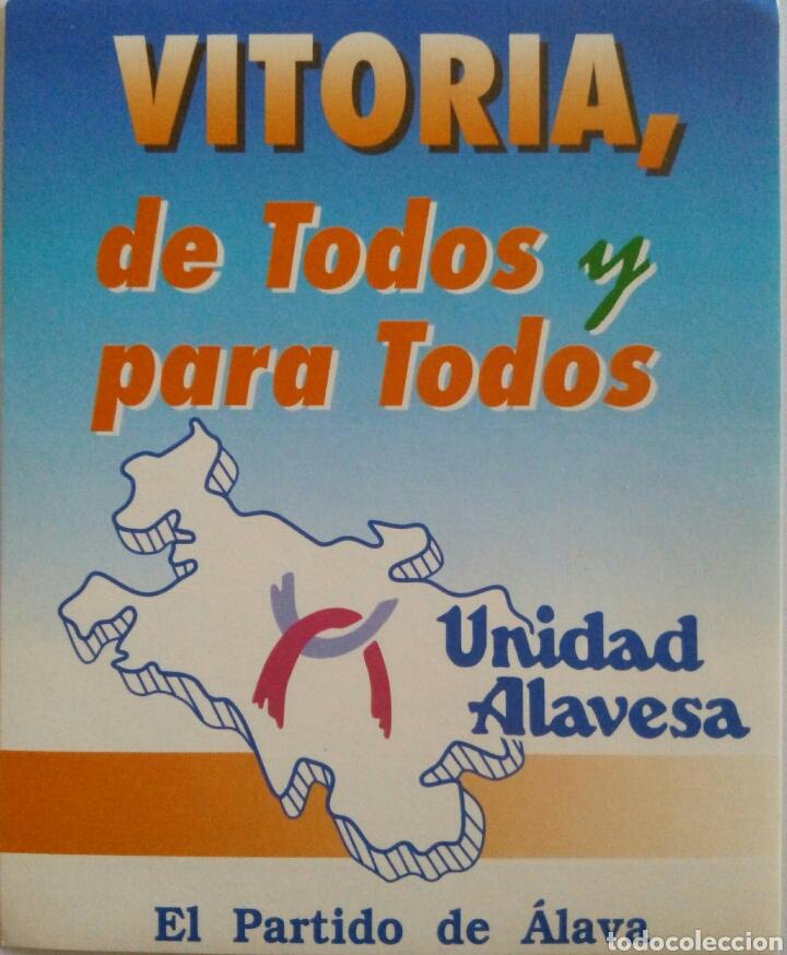 PEGATINA UNIDAD ALAVESA (Coleccionismos - Pegatinas)