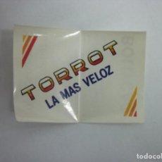 Pegatinas de colección: PEGATINA ADHESIVO BOLLYCAO. TORROT LA MAS VELOZ. TDKP12. Lote 121493899