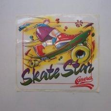 Pegatinas de colección: PEGATINA ADHESIVO SKATE STAR. LA CASERA. TDKP12 . Lote 98397735