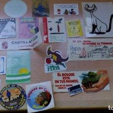 Pegatinas de colección: PEGATINAS ANTIGUAS SURTIDO VARIADO DE TODO UN POCO LOTE DE 24 UDS. . Lote 98806223