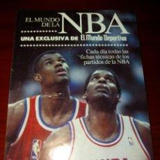 Adesivi di collezione: PEGATINA NBA MUNDO DEPORTIVO. Lote 99103052