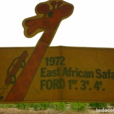 Pegatinas de colección: FORD 1972 EAST AFRICAN SAFARI RALLYE - PEGATINA/STICKER/AUFKLEBER/AUTOCOLLANT. Lote 99107379