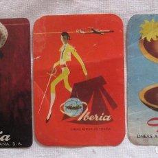 Pegatinas de colección: ANTIGUAS PEGATINAS DE IBERIA. MIDEN 11CM X 8CM. Lote 99566103