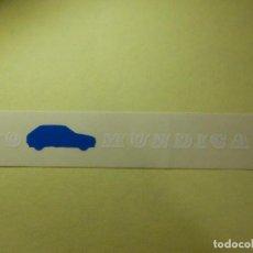 Autocolantes de coleção: PEGATINA - ADHESIVO - STICKER - YO MUNDICAR -TALLERES - COCHES - AUTOMÓVILES. - 3 X 18 CM . Lote 100215611
