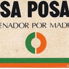 Pegatinas de colección: PEGATINA, PEGATINAS, ADHESIVO, ADHESIVOS UCD ELECCIONES GENERALES 1979. Lote 100220031