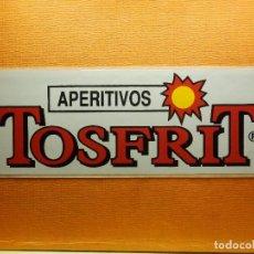 Pegatinas de colección: PEGATINA - ADHESIVO - STICKER - APERITIVOS TOSFRIT - 18 X 6 CM. - TIENDAS DE ALIMENTACION, BARES,. Lote 100265719