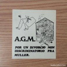 Pegatinas de colección: PEGATINA POLITICA TRANSICIÓN. Lote 101945335