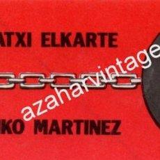Pegatinas de colección: RARA PEGATINA DE LA TRANSICION, ACTIVISTAS VASCOS. Lote 101976751