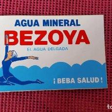 Pegatinas de colección: PEGATINA AGUA MINERAL BEZOYA. Lote 103069823