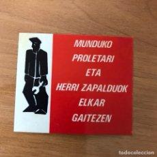 Pegatinas de colección: PEGATINA POLÍTICA. Lote 103573987