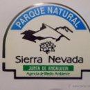 Pegatinas de colección: PEGATINA PAQUE NATURAL SIERRA NEVADA. JUNTA DE ANDALUCÍA. AGENCIA DE MEDIO AMBIENTE. Lote 161319386