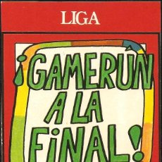Pegatinas de colección: PEGATINA - ADHESIVO FORGES 82 - ¡CAMERÚN A LA FINAL! - MUNDIAL 1982 ESPAÑA. Lote 104642595