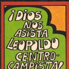 Pegatinas de colección: PEGATINA - ADHESIVO FORGES 82 - ¡DIOS NOS ASISTA! - MUNDIAL 1982 ESPAÑA. Lote 104642735