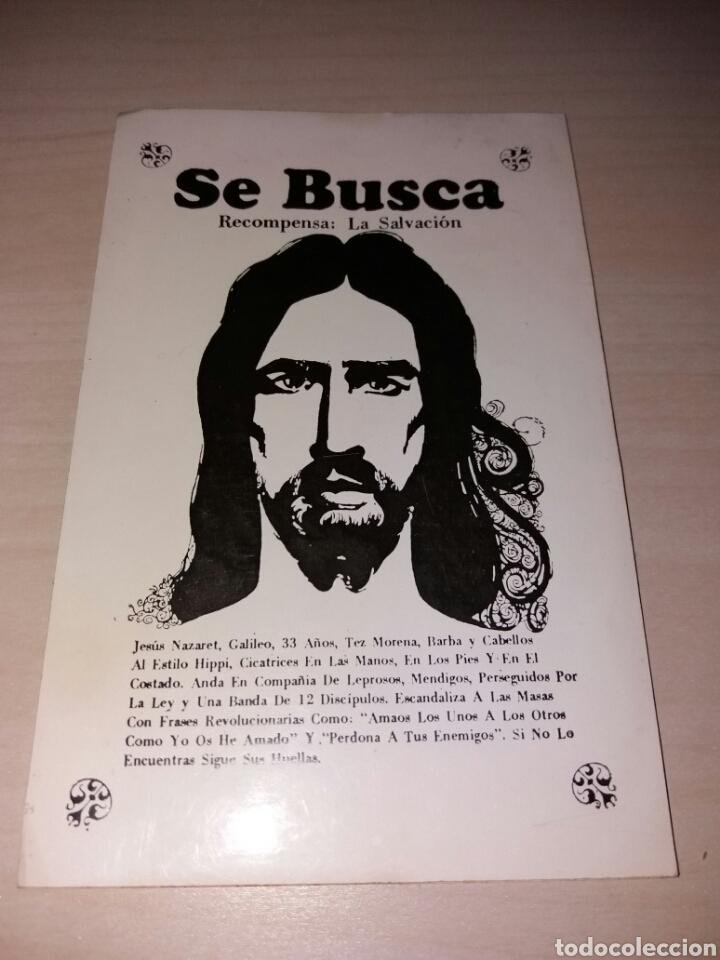 Antigua Pegatina Se Busca Jesús Kaufen Alte Aufkleber In