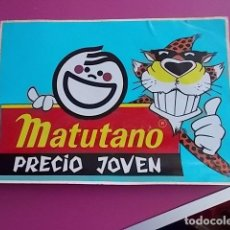 Autocollants de collection: PEGATINA/ MATUTANO. Lote 106170211