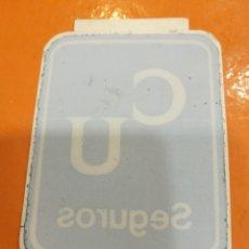 Pegatinas de colección: PEGATINA SEGUROS C U. Lote 108310043