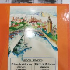 Pegatinas de colección: PEGATINA IBERIA NUEVOS SERVICIOS. Lote 108310587