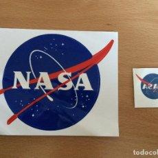 Pegatinas de colección: 2 PEGATINAS AGENCIA ESPACIAL USA NASA. Lote 109247303