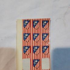 Pegatinas de colección: ANTIGUO BLÍSTER DE PEGATINAS DEL ATLÉTICO DE MADRID. Lote 110917836
