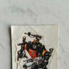 Pegatinas de colección: BOMBSHELL CROMO PEGATINA TRANSFORMERS BOLLYCAO SIN DESPEGAR. Lote 111181350