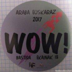 Autocolantes de coleção: PEGATINA ARABA EUSKARAZ 2017. Lote 111826723