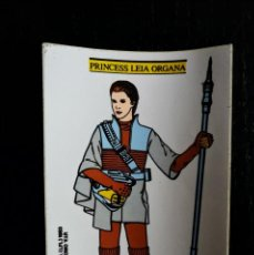 Pegatinas de colección: ANTIGUA PEGATINA DE PRINCESA LEIA ORGANA - LUCASFILM 1983 - STAR WARS - ORIGINAL DE EPOCA -. Lote 224144257