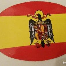 Pegatinas de colección: ANTIGUA PEGATINA EJERCITO MILITAR FALANGE ESPAÑOLA FRANCO UNA GRANDE Y LIBRE AÑOS 70 80. Lote 111996671